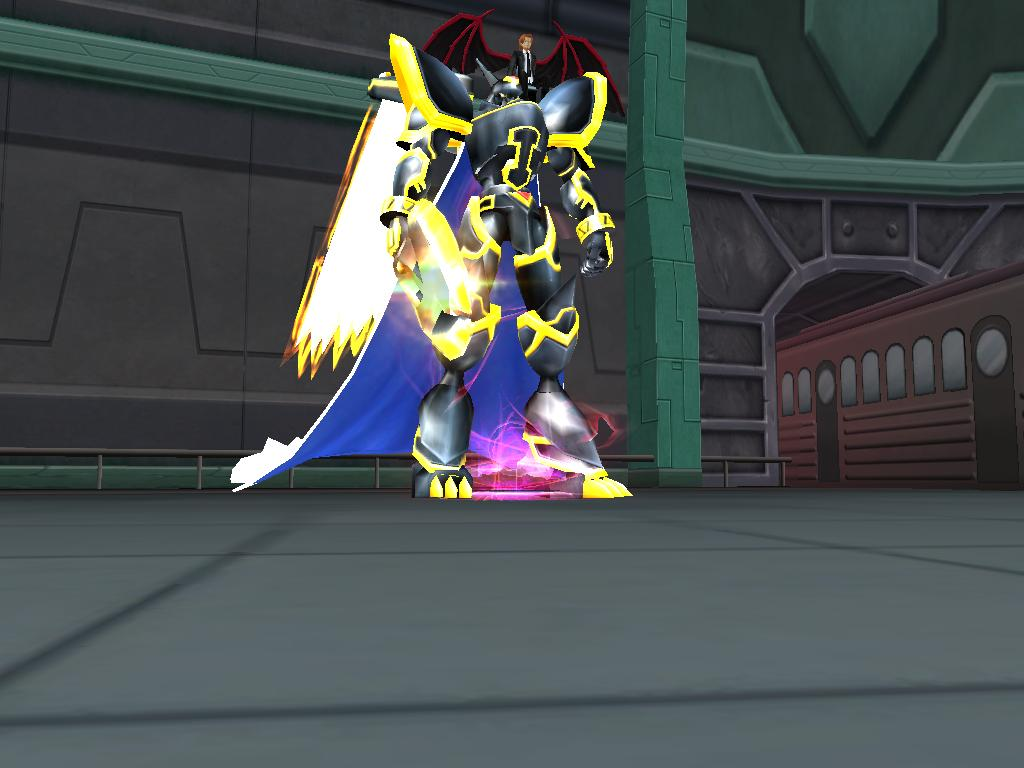 Digimon master online Quest Alphamon Ouryuuken Mode