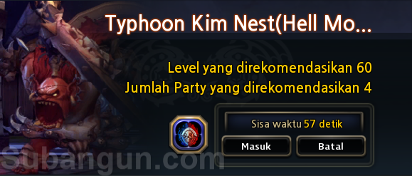 dragon nest indonesia update TKN & PKN hell & Skill Balancing