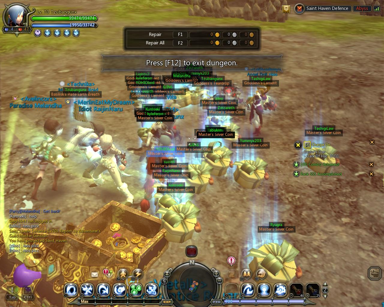 Dragon Nest Saint's Haven Defense