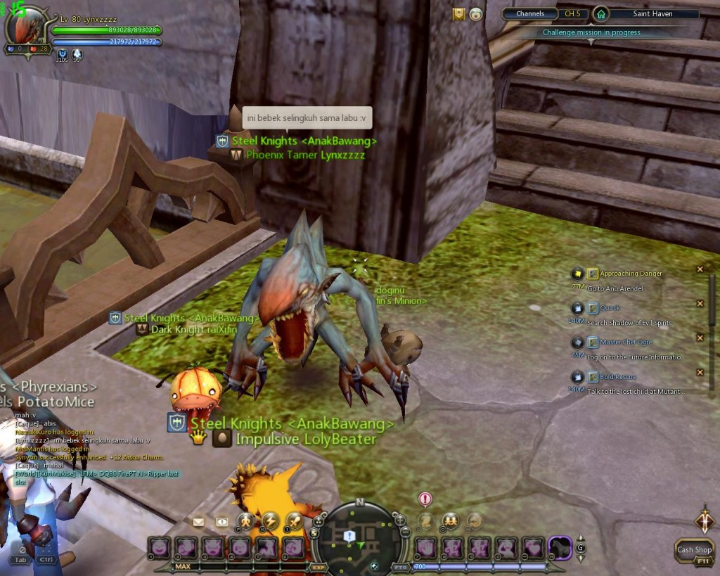 Dragon nest indonesia polluted water 3