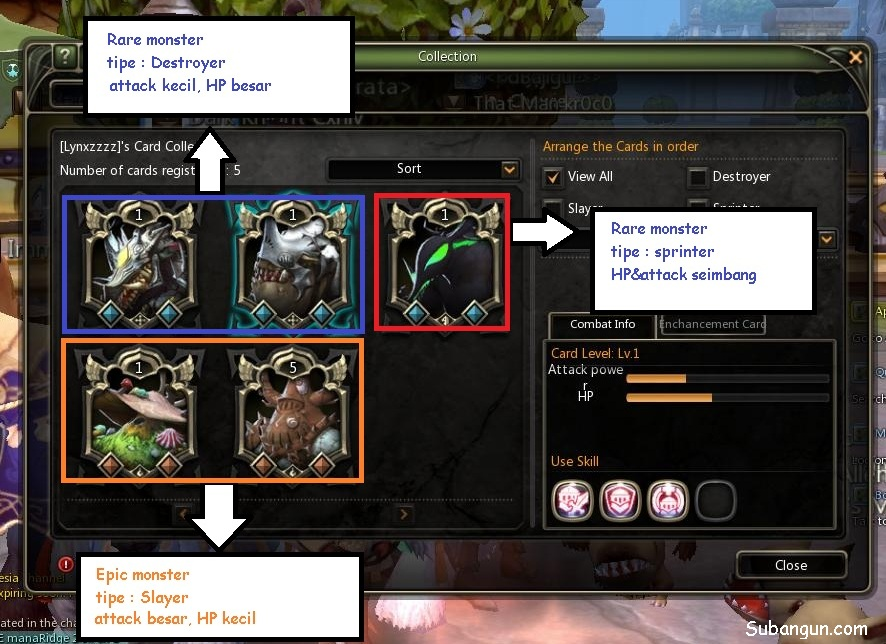 Dragon Nest Citadel of Erosion monster list
