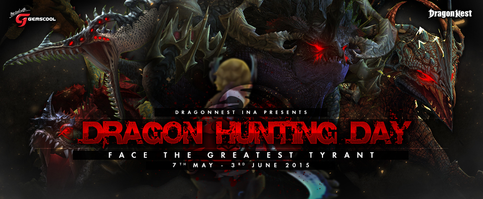 Dragon nest Dragon hunting day