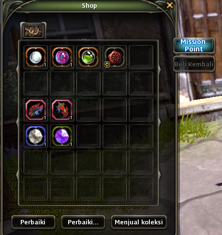 dragon nest achievement shop
