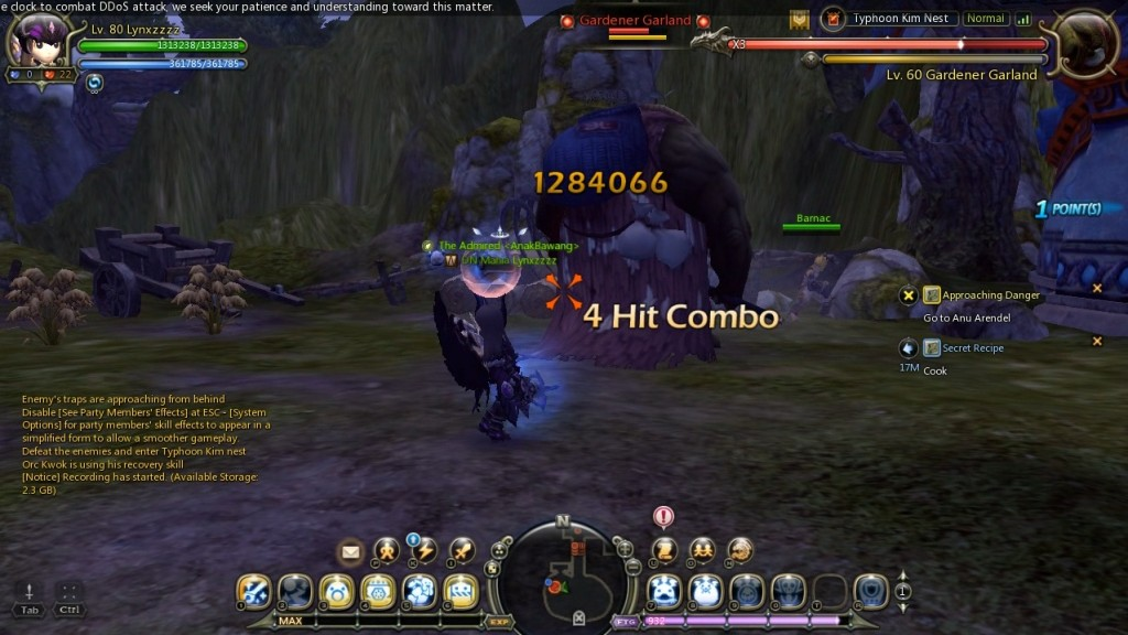 dragon nest mercenary Barnac2