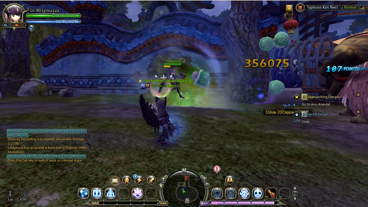 Test Damage Mercenary Epic Dragon Nest
