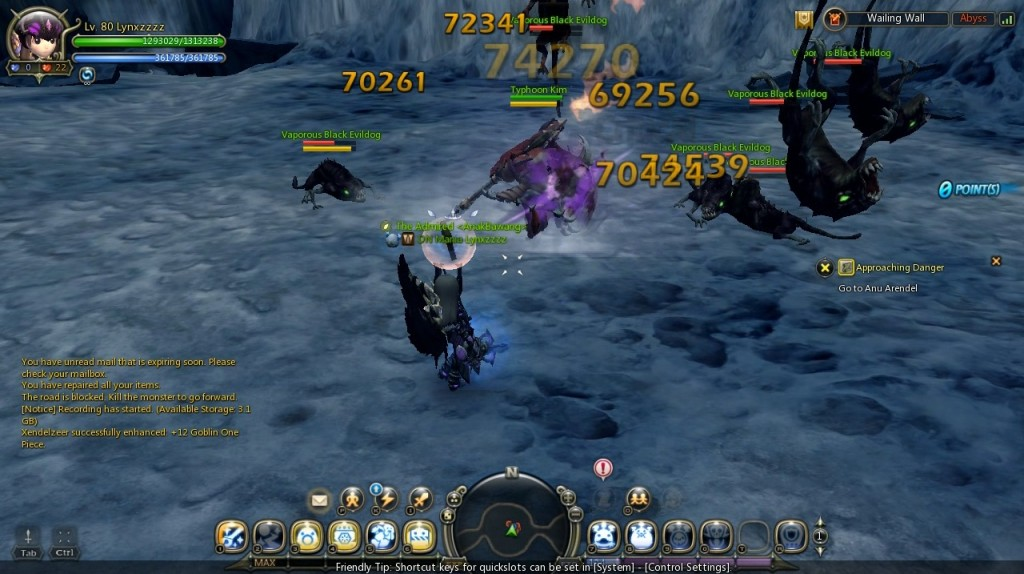 dragon nest mercenary typhoon