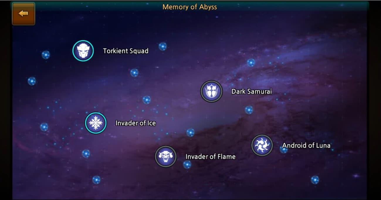 Heroes of Gods Memory of abyss