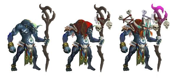 evolusi avatar Heroes of Gods Indonesia