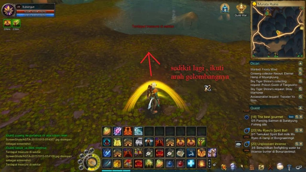 Asta online Treasure hunter tips 2