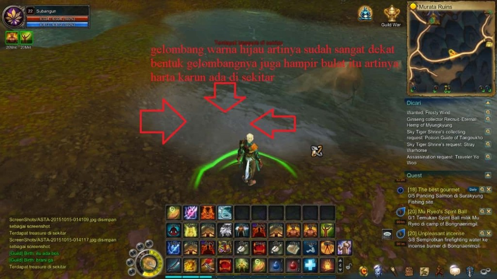 Asta online Treasure hunter tips 3