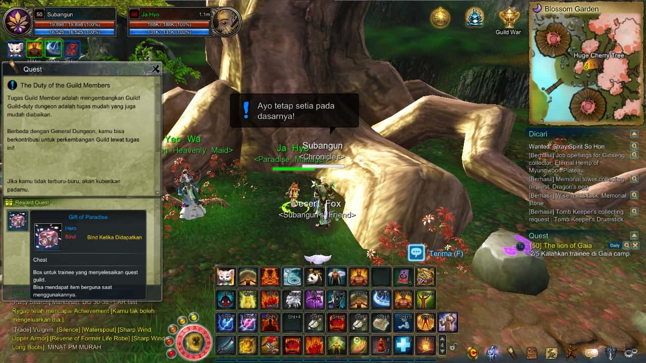 Asta online Guild daily quest