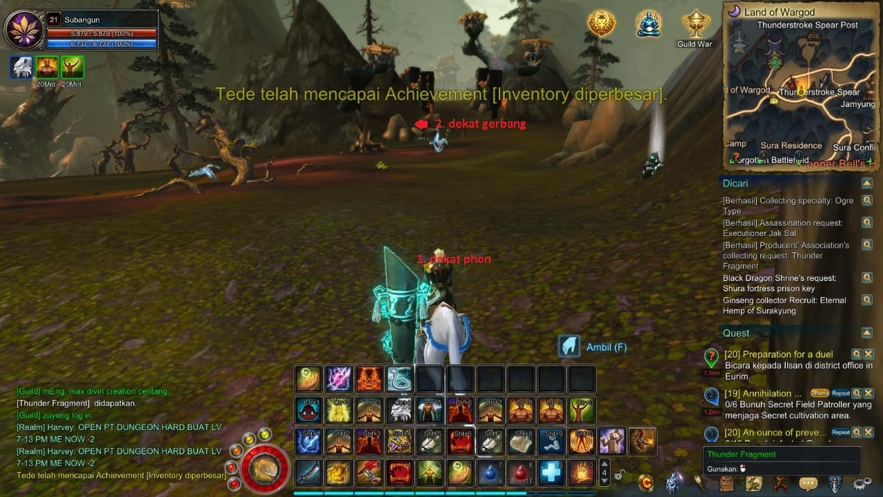Asta Online Indonesia Shura Novice Bounty hunter Quest
