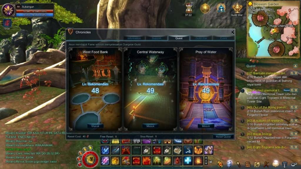 asta online guild quest