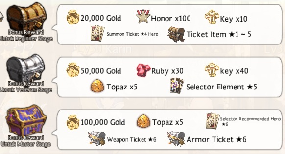 Seven Knight guide quest & reward