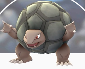 pokemon go Golem