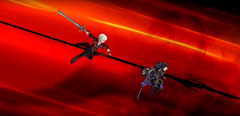 JP Seven Knight x Devil May Cry Collaboration