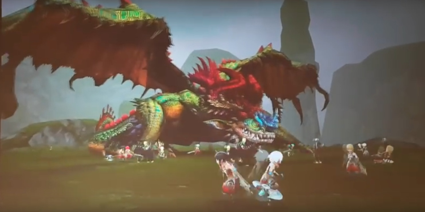 World of Dragon Nest game baru Buatan Eyedentity