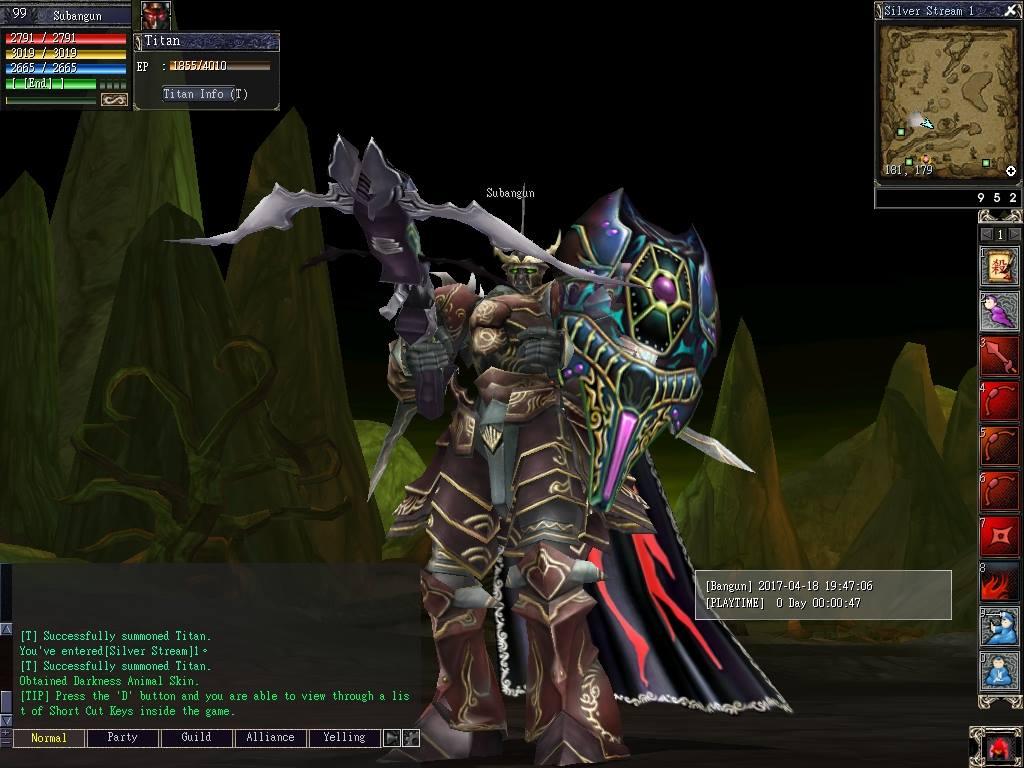 Gangho Online game mati suri yang coba dibangkitkan oleh Gemscool