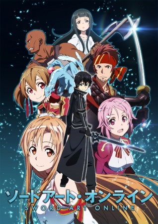 Anime Bergenre Game MMORPG Sword Art Online