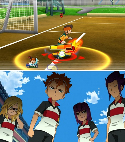 Anime yang di Adaptasi dari Game Inazuma Eleven