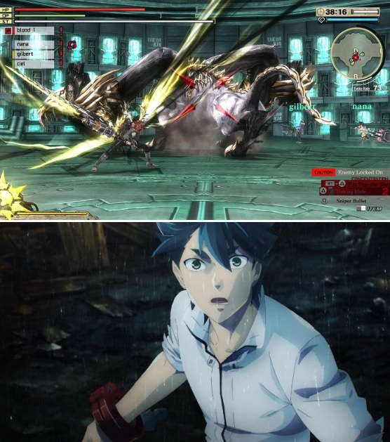 Anime yang di Adaptasi dari Game god eater