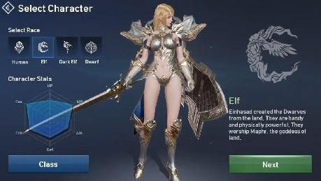 karakter elf