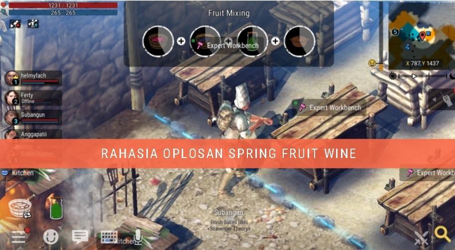 Rahasia Oplosan Spring Fruit Wine Durango : wild Lands